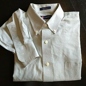 Men's Chap Button Down Dress Shirt sz L